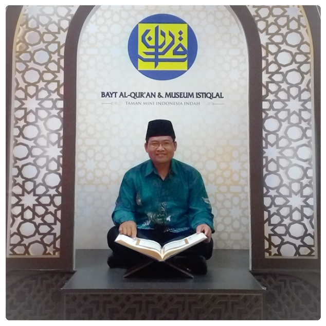 saya di rumah Al Qur'an Indonesia di TMII Jakarta