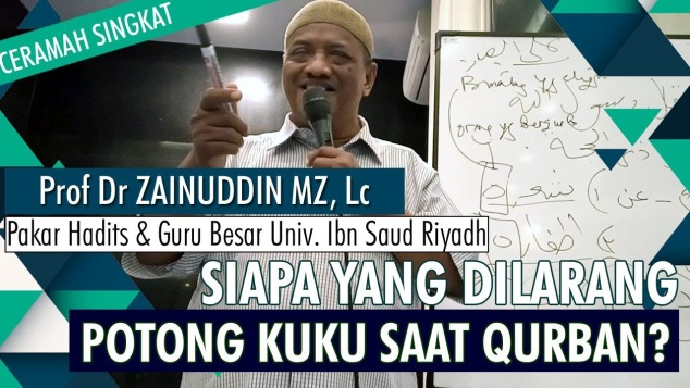 Siapa Yang Dilarang Potong Kuku Saat Qurban?