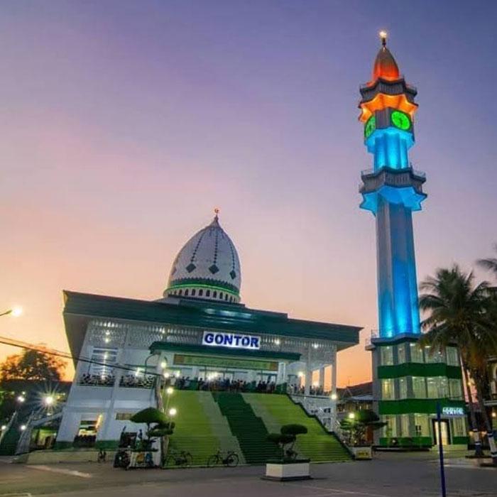masjid jami pondok gontor pusat ponorogo