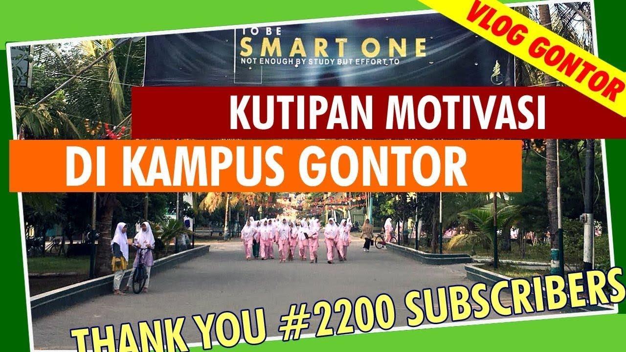 Menyimak Motivasi Para Kyai di Pondok Gontor | Vlog Pondok Gontor